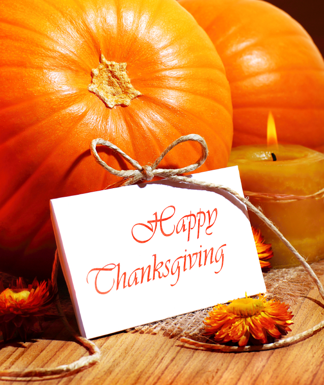 Happy Thanksgiving From Riverside Cleaning